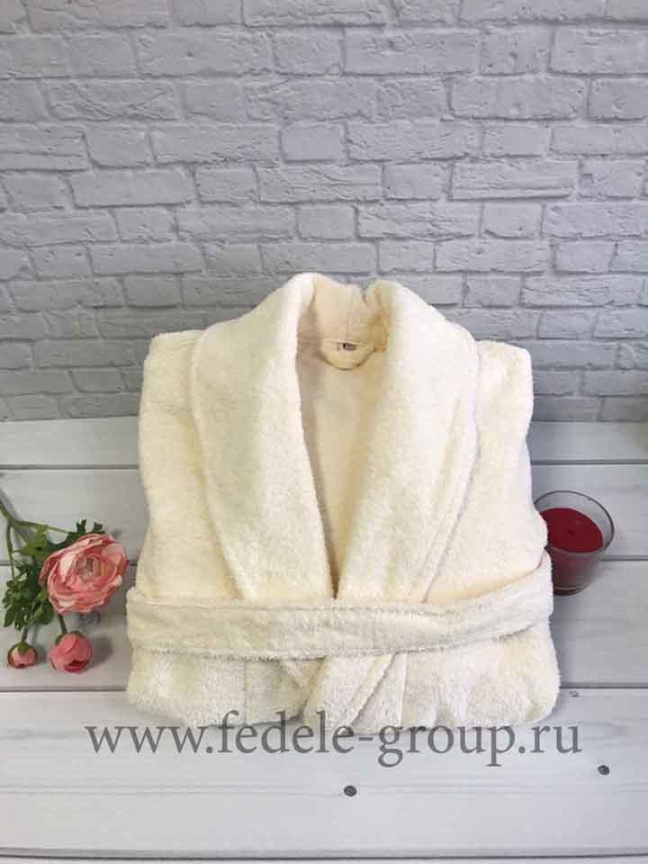белые махровые халаты для гостиниц